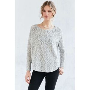 UO Grey Knit Sweater lightly worn